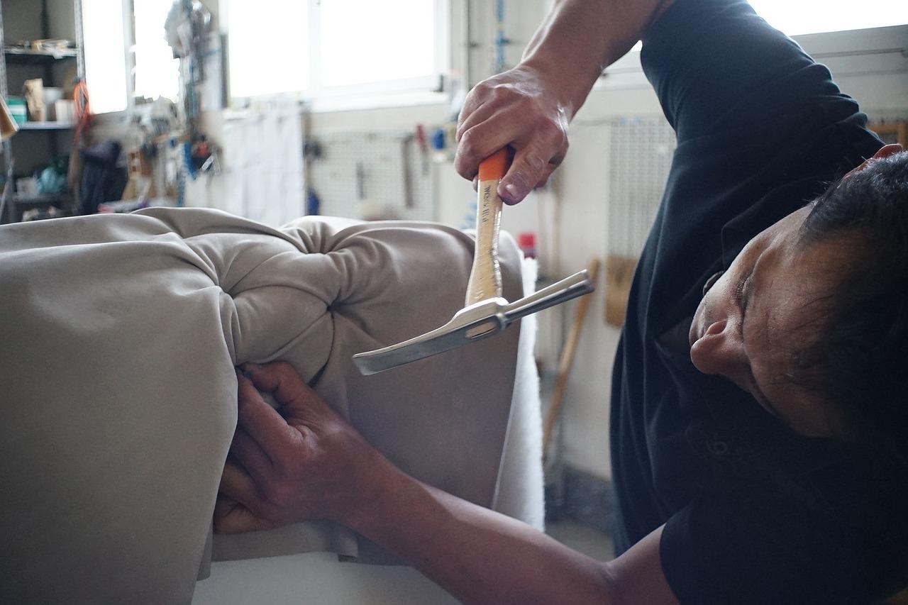 artisan, sofa, manufacture