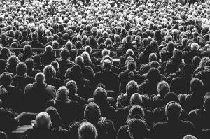 audience, crowd, people