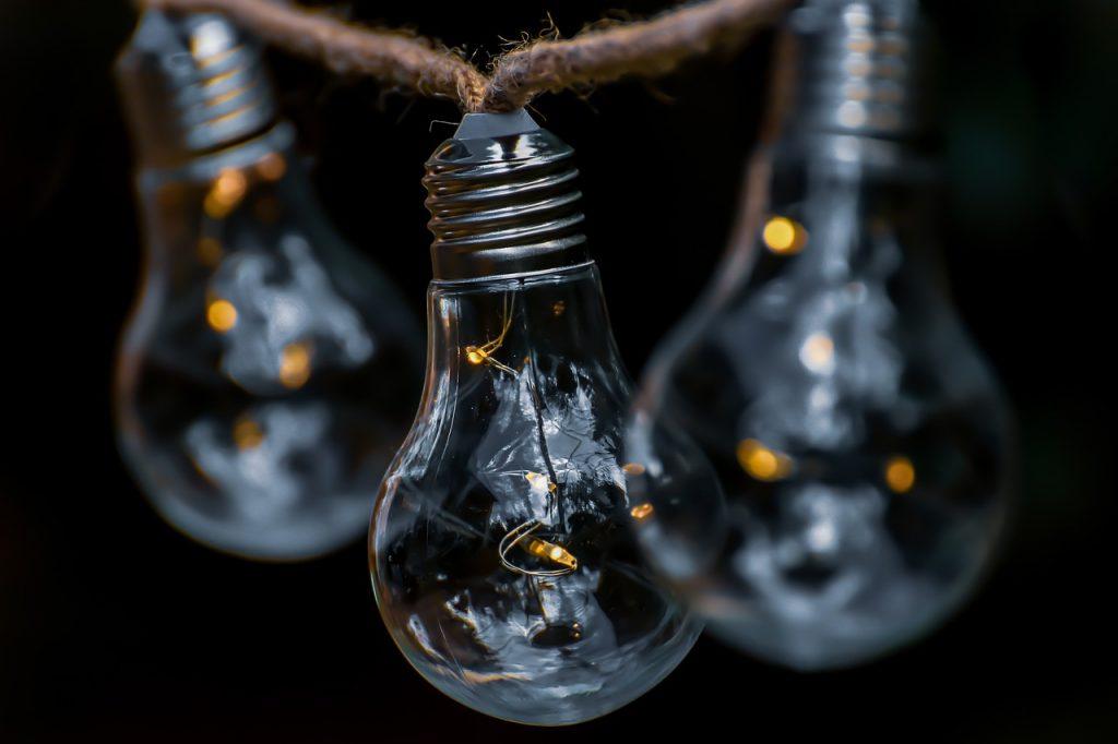 light bulb, energy, nature