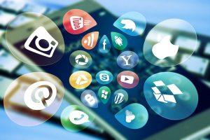social media, social, keyboard