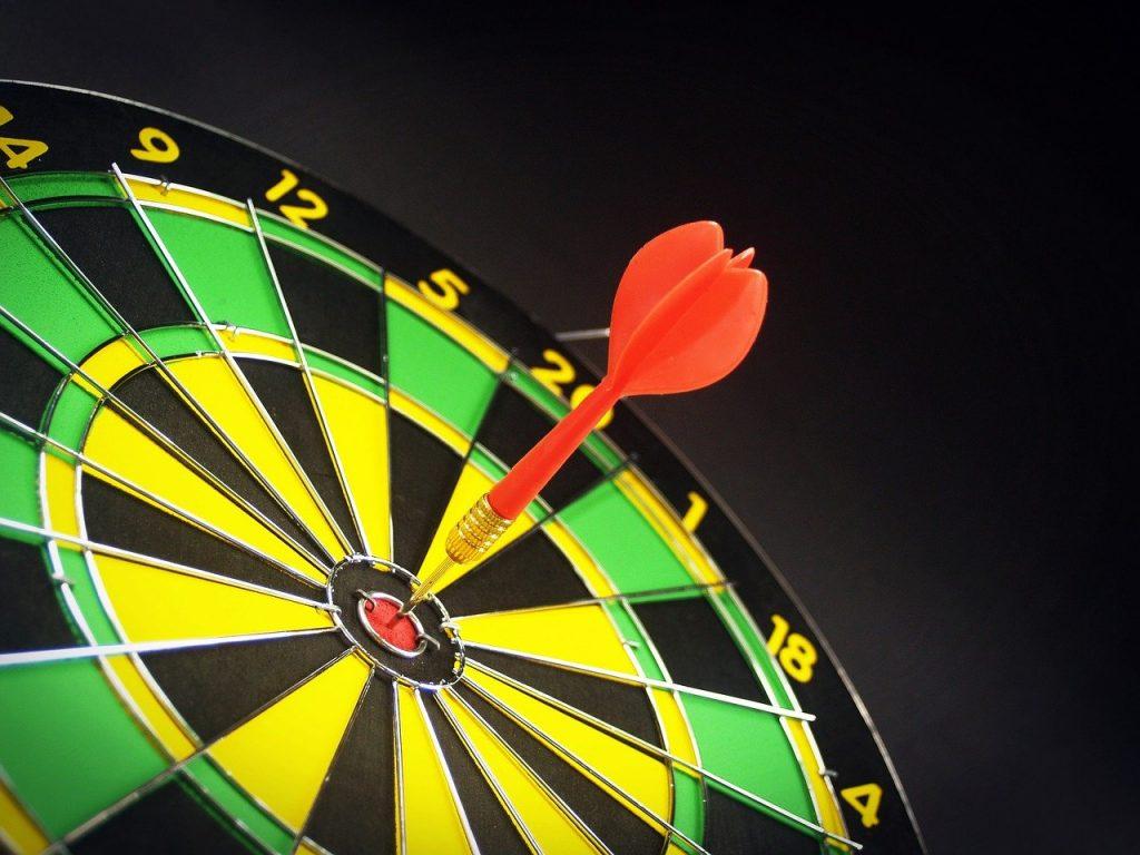 target, goal, aiming